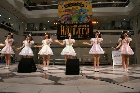 9月25日@池袋サンシャインシティ噴水広場 (okmusic UP's)