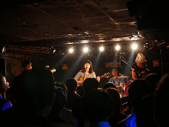 9月29日@下北沢SHELTER (okmusic UP's)