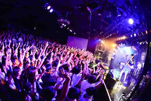 10月3日(土)@梅田CLUB QUATTRO (okmusic UP's)