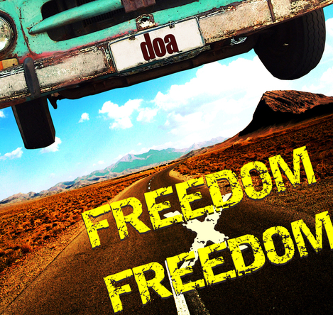 配信シングル「FREEDOM×FREEDOM」 (okmusic UP's)