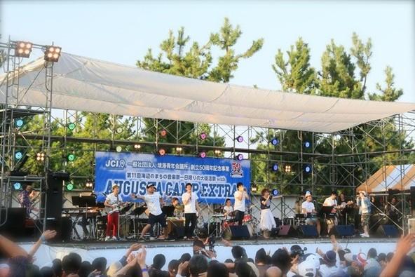 10月3日@「第11回海辺のまちの音楽祭一日限りの大復活祭with Augusta Camp Extra in 境港」 (okmusic UP's)