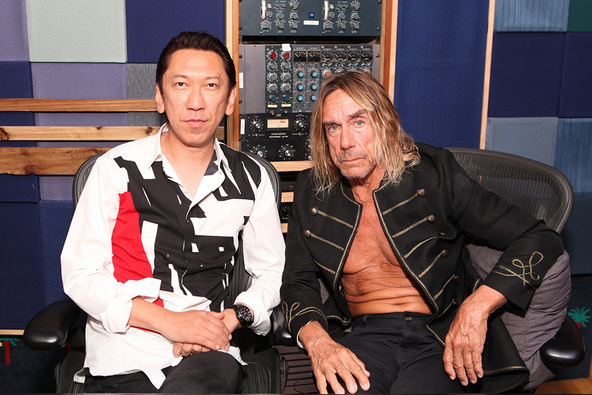 HOTEI×Iggy Pop (okmusic UP's)