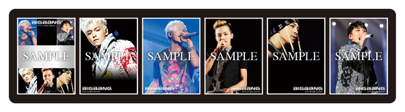 劇場限定「BIGBANGオリジナルプリントシール」フレーム一覧 (okmusic UP's)
