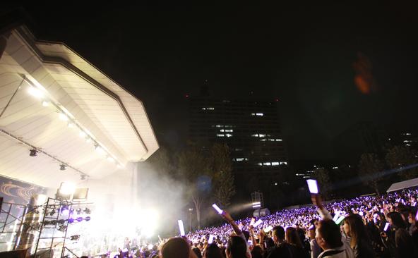 10月11日(日)@東京・日比谷野外大音楽堂 (okmusic UP's)