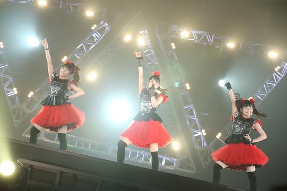 6月21日@幕張メッセ公演「BABYMETAL WORLD TOUR 2015 〜巨大天下一メタル武道会〜」 (c)Amuse inc.(okmusic UP\'s)