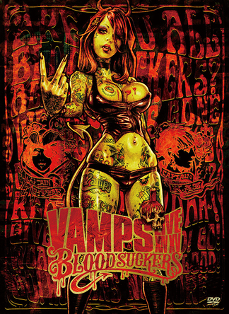 DVD『VAMPS LIVE 2015 BLOODSUCKERS』【初回限定盤】 (okmusic UP's)