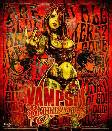 Blu-ray『VAMPS LIVE 2015 BLOODSUCKERS』【通常盤】 (okmusic UP's)