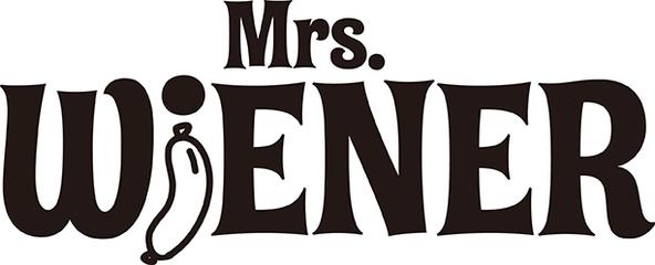 Mrs.WiENER ロゴ (okmusic UP's)