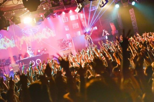 10月23日(金)@恵比寿リキッドルーム (okmusic UP's)