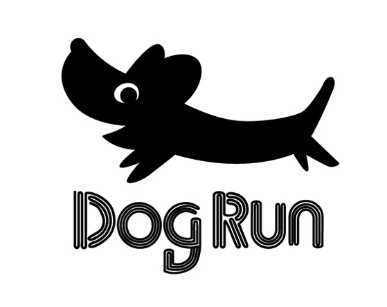 「Dog Run Night」ロゴ (okmusic UP\'s)