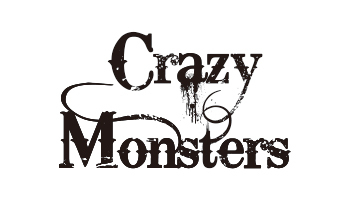 Crazy Monsters ロゴ (okmusic UP\'s)