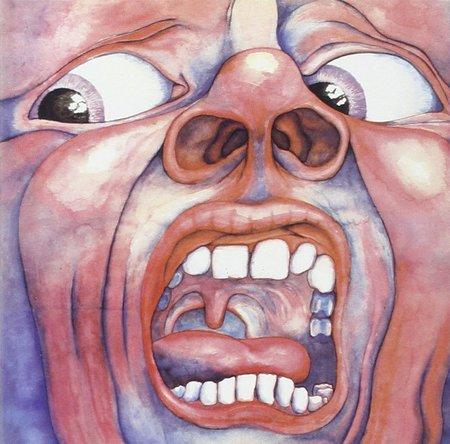 King Crimson『クリムゾン・キングの宮殿』のジャケット写真 (okmusic UP\'s)