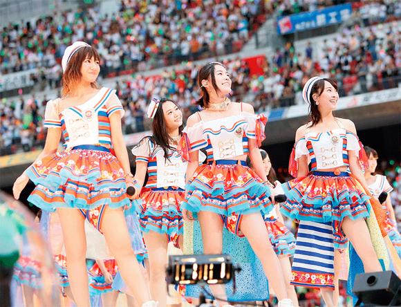 『松井玲奈・SKE48卒業コンサート in 豊田スタジアム 〜2588DAYS〜』ダイジェスト映像より (okmusic UP\'s)