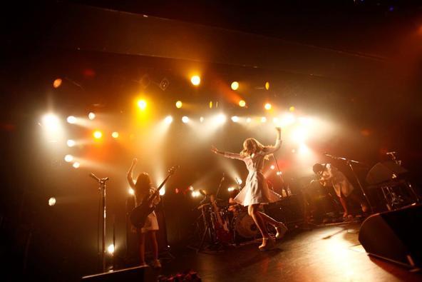 11月6日@LIQUIDROO(赤い公園) (okmusic UP\'s)