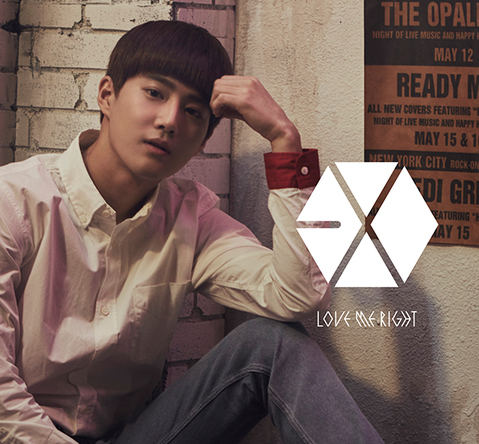 シングル「Love Me Right ~romantic universe~」【初回盤】(CD ONLY)SUHO(スホ)Ver. (okmusic UP's)