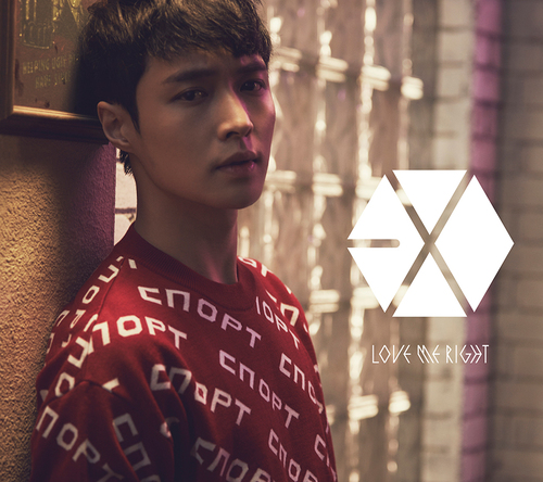 シングル「Love Me Right ~romantic universe~」【初回盤】(CD ONLY)LAY(レイ)Ver. (okmusic UP's)