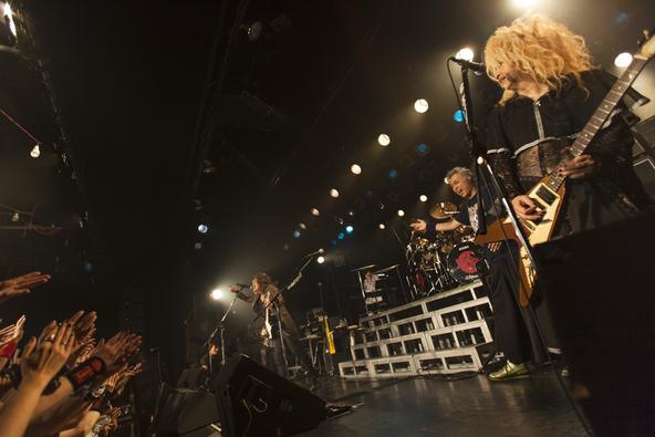 11月14日@東京・恵比寿のLIQUIDROOM (okmusic UP's)