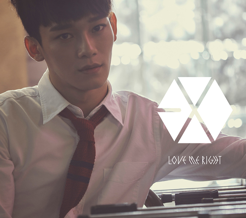 シングル「Love Me Right ~romantic universe~」【初回盤】(CD ONLY)CHEN(チェン)Ver. (okmusic UP's)