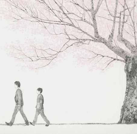 シングル 「桜」ジャケット (okmusic UP's)