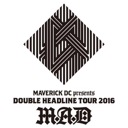 「M.A.D」ロゴ (okmusic UP's)