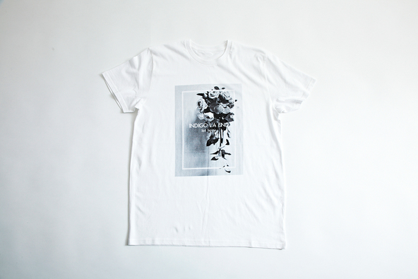 indigo la End × lot holon コラボTシャツ (okmusic UP's)