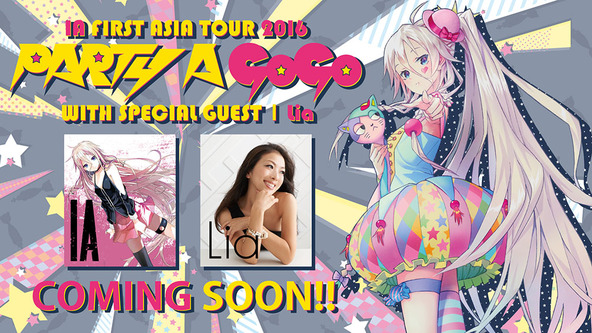 『 IA FIRST ASIA TOUR 2016-PARTY A GO GO-』 (okmusic UP's)