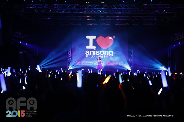 『Anime Festival Asia 2015』(AFA2015) (okmusic UP's)