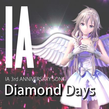 配信シングル「Diamond Days」 (okmusic UP's)