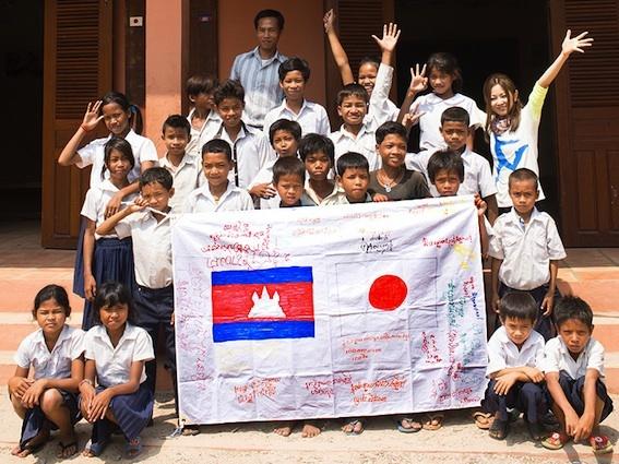 「みんなでカンボジアに寺子屋を建てよう!プロジェクト」 (okmusic UP's)