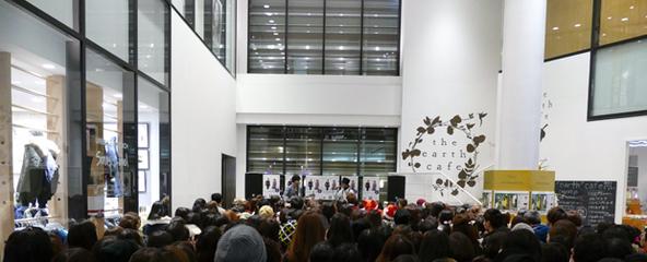 12月15日@大阪・NU茶屋町1Fコリドール広場 (okmusic UP's)