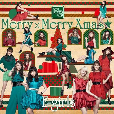 E-girls「Merry × Merry Xmas★」のジャケット写真 (okmusic UP's)