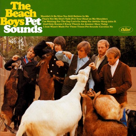 The Beach Boys『Pet Sounds』のジャケット写真 (okmusic UP\'s)