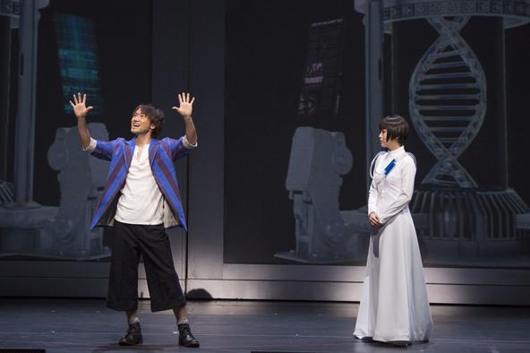 『DNA-SHARAKU』【左:柊健二(ナオト)、右:佐山ハル(新妻聖子)】 (okmusic UP's)