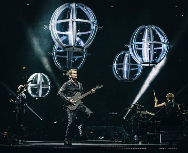 『MUSE DRONES WORLD TOUR』ライブ写真
