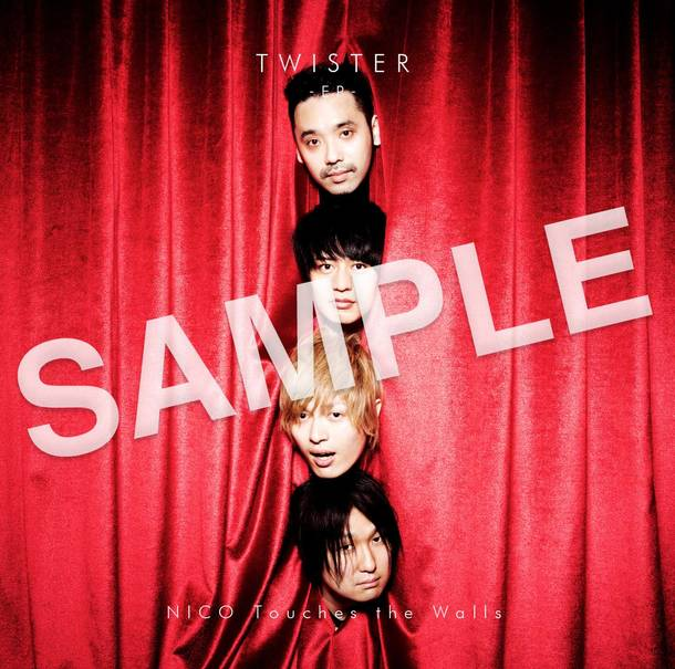 EP『TWISTER –EP–』予約購入特典フォトステッカー Tower Records Ver.