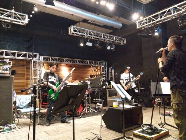 『OBLIVION DUST Tour 2018 Adrenaline - Come Get Your Fix』リハーサル