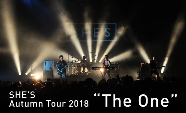 "『SHE'S Autumn Tour 2018 ""The One""』"