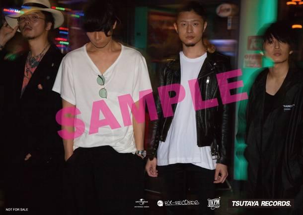 シングル「Mosquito Bite」TSUTAYA RECORDS全店特典 応募ハガキ付オリジナルポストカード