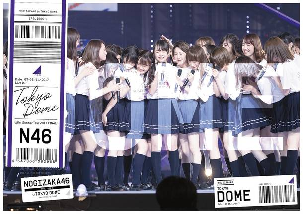 Blu-ray&DVD「真夏の全国ツアー2017 FINAL!IN TOKYO DOME」【通常盤】(DVD)