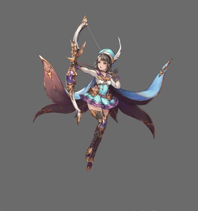 坂口渚沙が声優を務める「フローレ」は弓の使い手