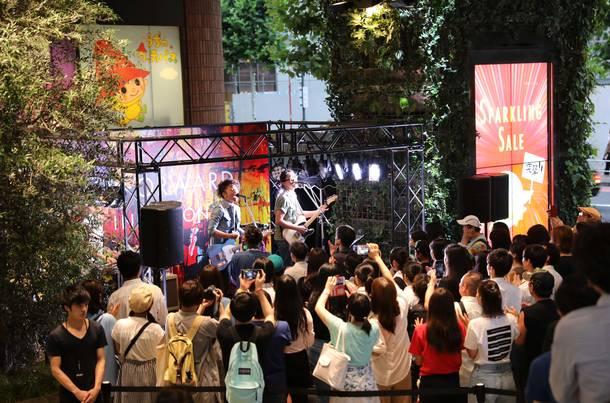 7月4日@渋谷MODI
