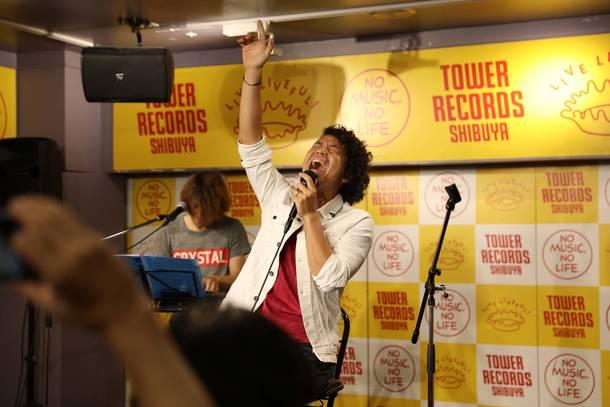 7月4日@タワーレコード渋谷店