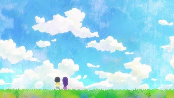 TVアニメ『ハイスコアガール』エンディング キャプチャ (C)押切蓮介/SQUARE ENIX・ハイスコアガール製作委員会)