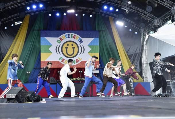 7月14日@『DANCE EARTH FESTIVAL 2018』