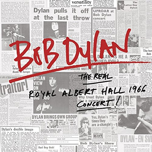 「Like a Rolling Stone」収録アルバム『Bob Dylan The Real Royal Albert Hall 1966 Concert』/Bob Dylan