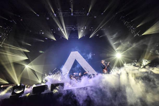 """【ACIDMAN ライヴレポート】 『ACIDMAN LIVE TOUR """"Λ(ラムダ)""""』2018年7月13日 at 日本武道館"""