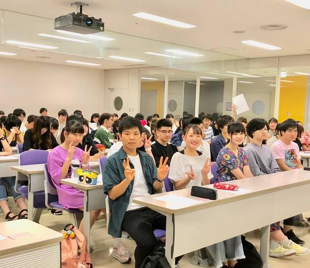 ゑんらが7月17日、日本工学院専門学校蒲田校ミュージックカレッジ「コンサート・イベント科」の授業にゲスト講師として登場