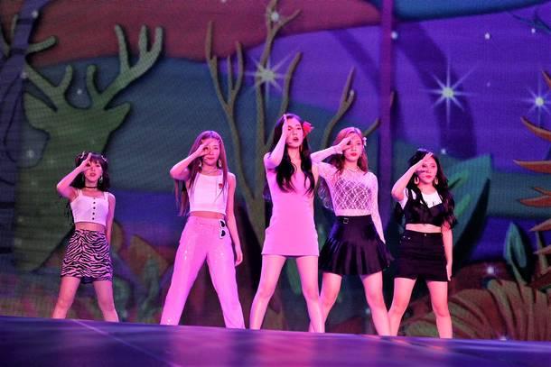 『SMTOWN LIVE』(Red Velvet)