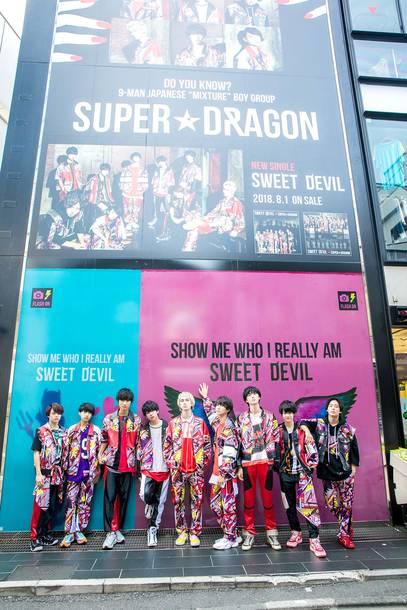 8月1日@原宿・竹下通り Display Window
