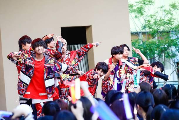 8月1日@東京ドームシティ ラクーアガーデンステージ
